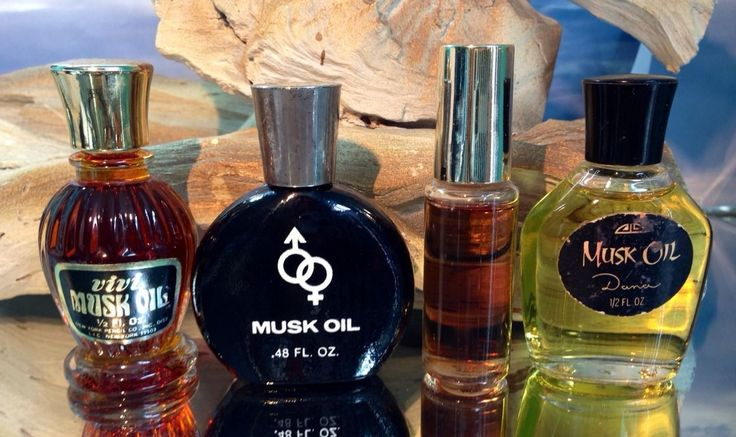 Vintage musk oil by dana pictures