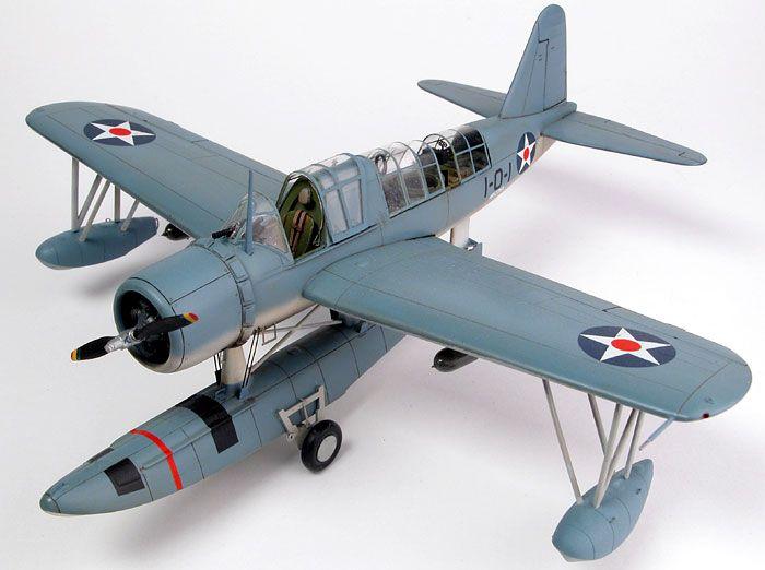 How Monogram Models won the war: OS2U-3 Kingfisher