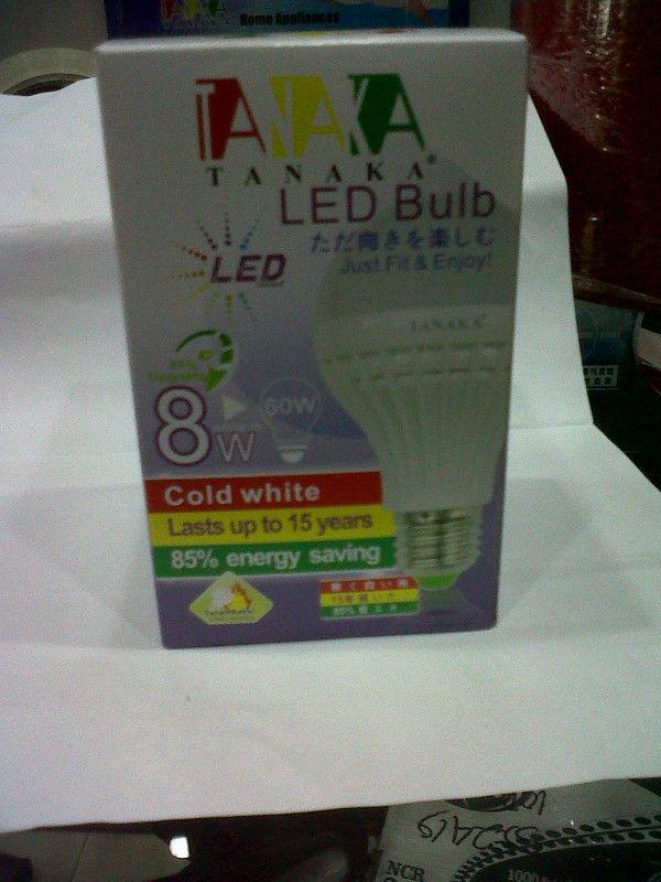 Lampu Led Tanaka 8 Watt.. Hemat hingga 85 %. Tahan bakar.... Harga promo.. Hanya di https//www.tokopedia.com/yoriyukishop/lampu-led-tanaka-8-watt
