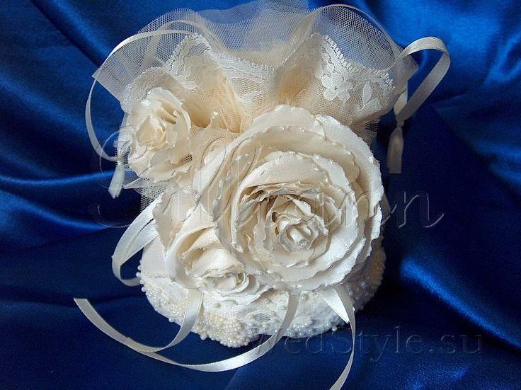 Свадебная сумочка Gilliann Роза цвета Айвори BAG284 #weddingbag #weddingclutch