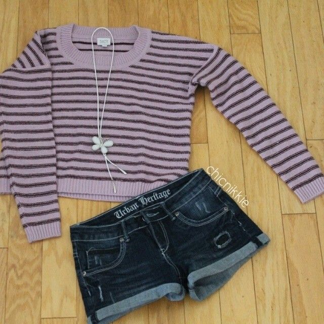 Top- Suzy Shier Shorts- Urban Planet Necklace- Online