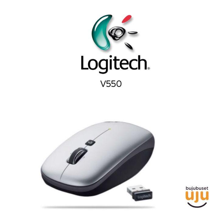 Logitech V 550 Nano Cordless Laser Notebook Mouse  IDR 435.000