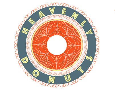 "Check out new work on my @Behance portfolio: ""Heavenly Donuts Identity"" http://on.be.net/1FfXlJS"