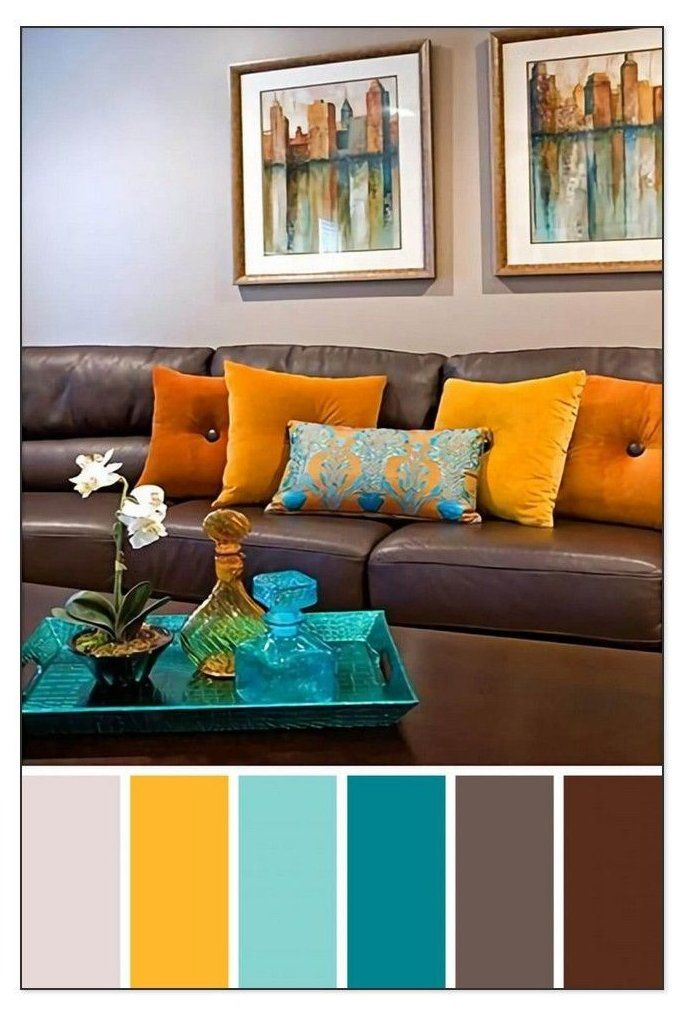 27 Inspiration Color Schemes For Living Rooms Grey Sofa Brown Sofa Living Room Colour Schemes Brown Living Room Color Schemes Living Room Color Combination