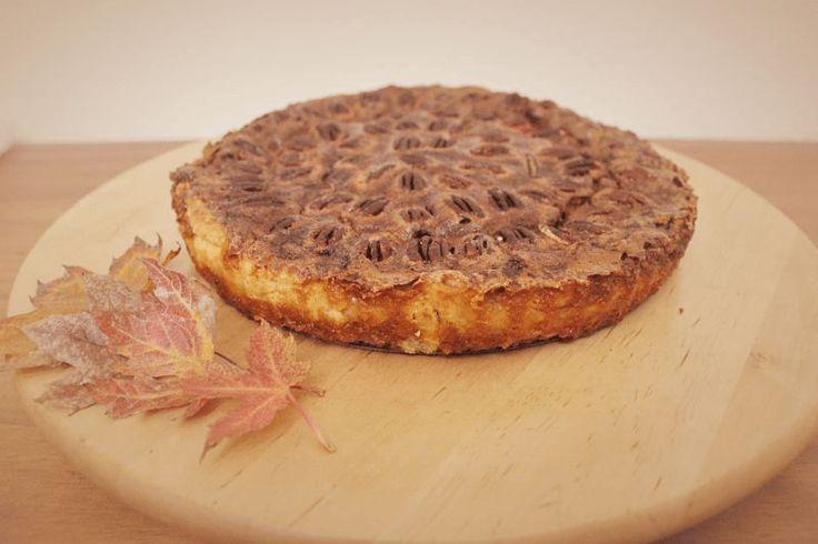 ¡Pecan Pie, un clásico de EEUU en el día de Acción de Gracias!