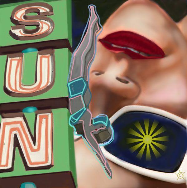 """""""Sun"""" #art #ipad"""