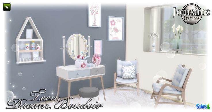 Sims 4 teen bedroom