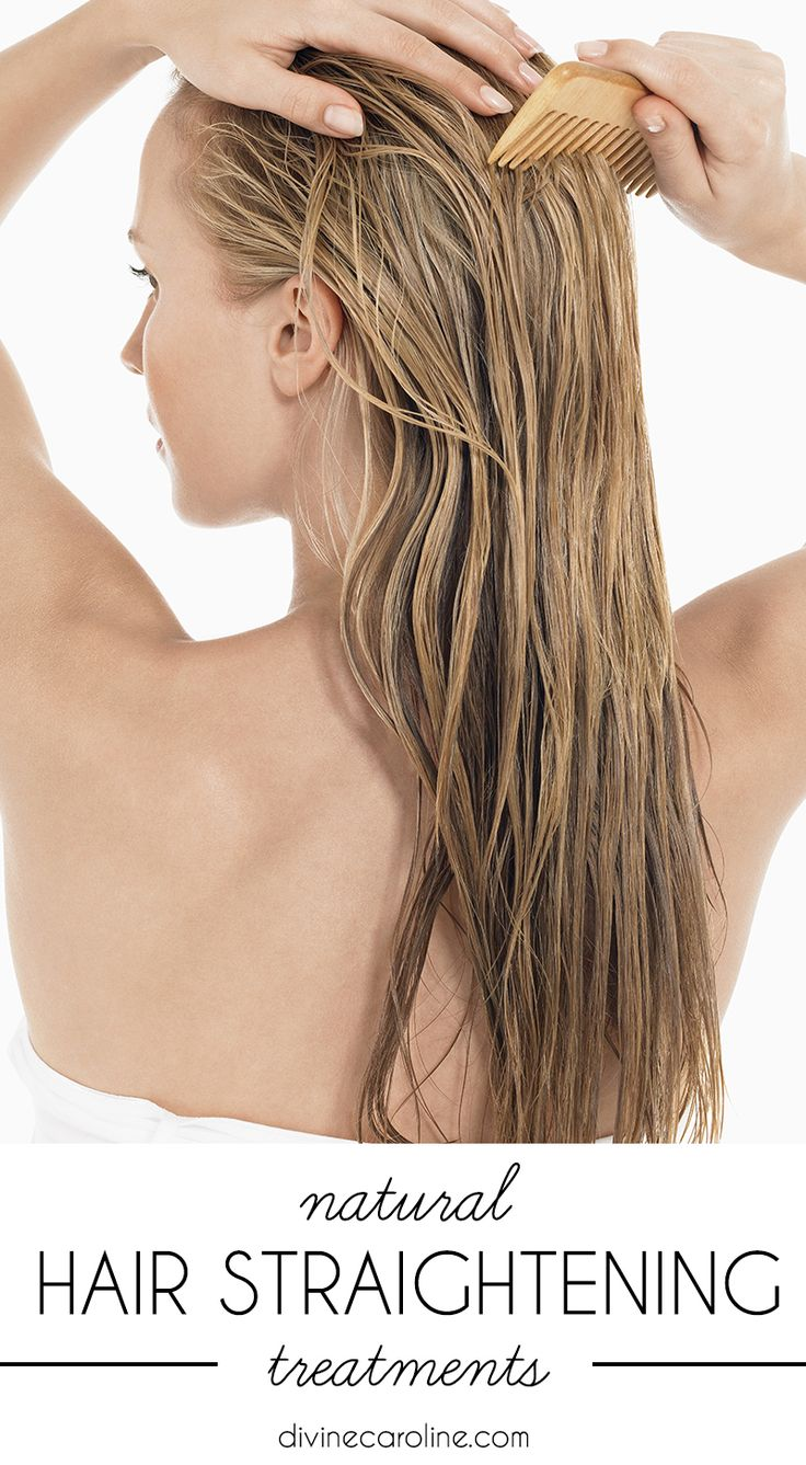 Don't let your hair get damaged with permanent hair straighteners. Instead, check out these natural treatments for gorgeous (and healthy) locks.