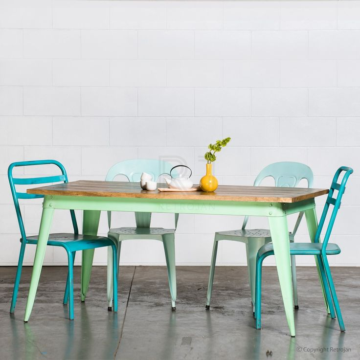 Large Retro Nash Table - Mint Green | $399.00