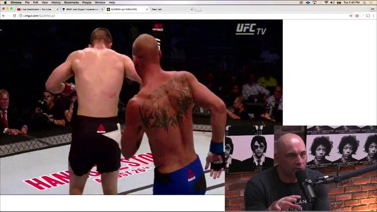 """Donald """"Cowboy"""" Cerrone on Fighting at 170 (from Joe Rogan Experience #840)"""