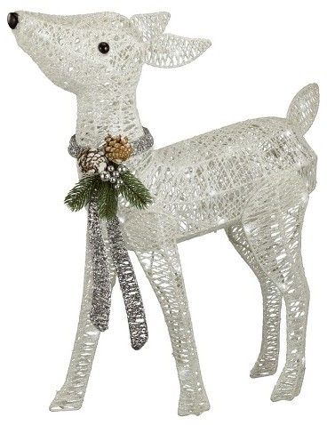 Philips 24 5 Christmas Led Lit Twinkling Glitter String Fawn Pure