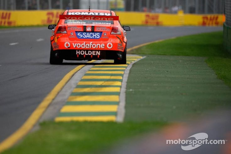 JAMIE WHINCUP. Aussie V8s at Albert park supporting the Australian Grand Prix