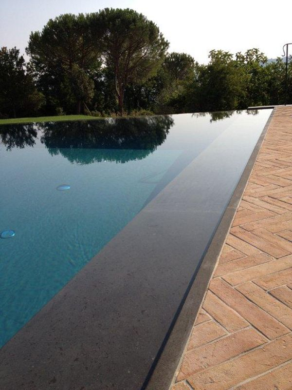 Download the catalogue and request prices of Infinity swimming pool By indalo piscine, infinity swimming pool with waterfall