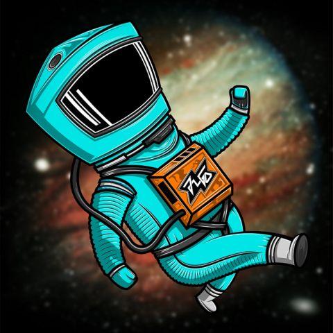 2001. Space Odisey. Realizado en base a Illustrator y Photoshop.
