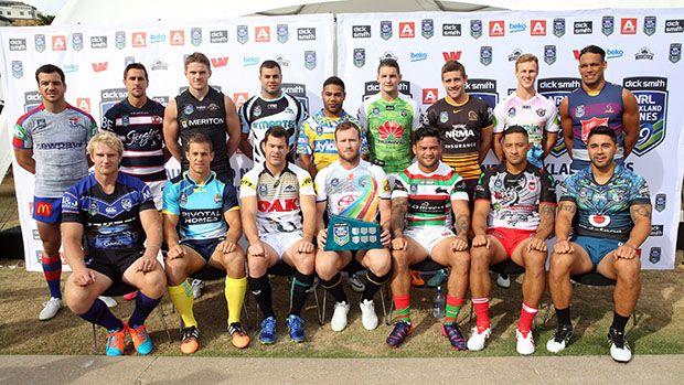 16 captains NRL 9's Copyright NRL Photos.