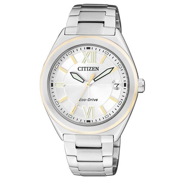 Citizen Uhr Nr. FE6004-52A. Machen Sie ein unvergessliches Geschenk und schenken Sie diese Uhr mit einer persönlichen Gravur.