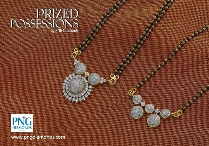 10 Different Styles Diamond Mangalsutra