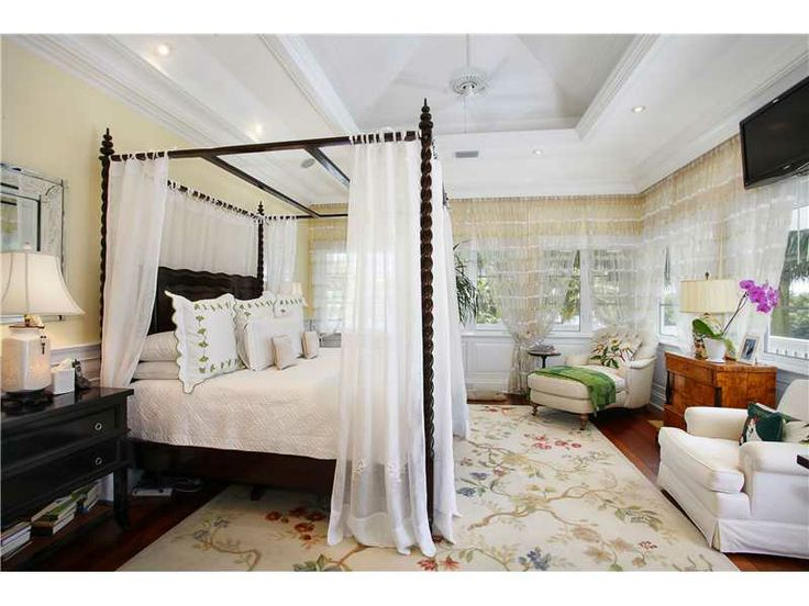 A Princess Style Bed With A Canopy Is Sweet And Romantic