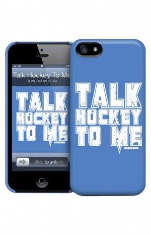 TalkHockey G-Shell (iPhone) GONGSHOW