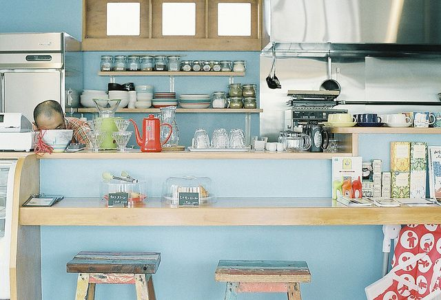 Scandinavian Cafe by **mog**, via Flickr