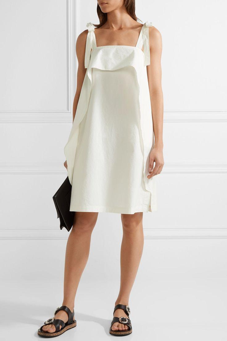 Paul & Joe   Layered cotton-blend poplin dress   NET-A-PORTER.COM