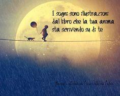 Nero come la notte dolce come l'amore caldo come l'inferno: I sogni sono illustrazioni del libro che la tua an...