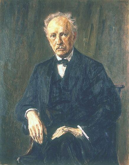 Richard Strauss, by Max Liebermann. 1918. (Alte National Galerie, Berlin) #strauss #music #boydellpress #urpress