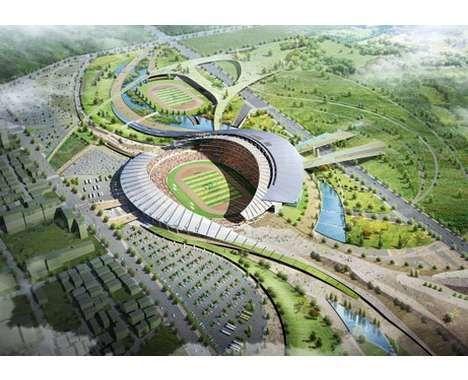43 Stellar Stadiums #architecture trendhunter.com
