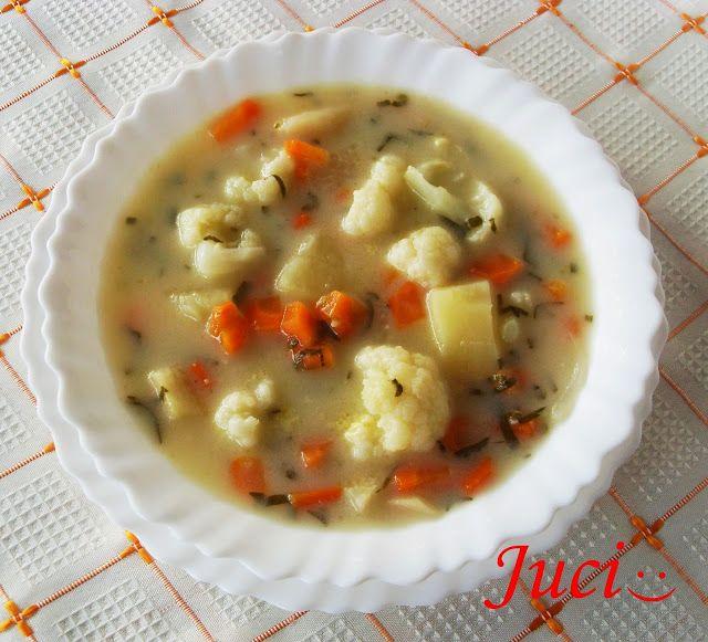 Könnyű a főzés, ha van miből!: Karfiolos csorba