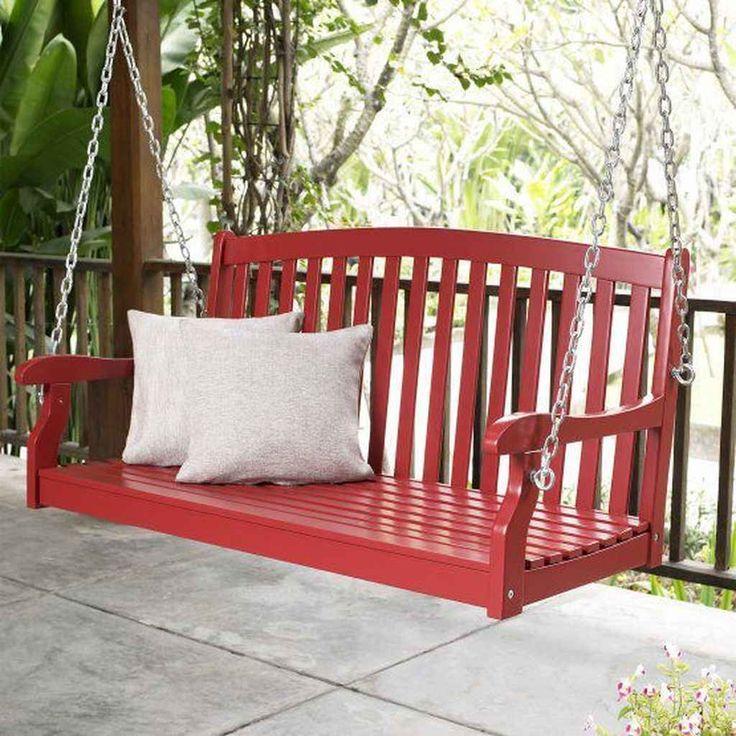 farmhouse porch swing cushion