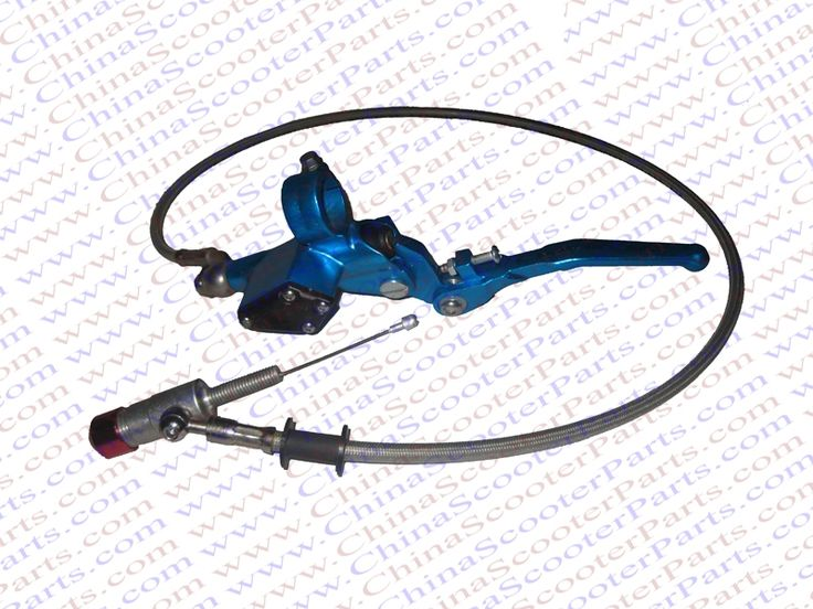 Hydraulic clutch lever master cylinder 90CM For Honda CRF CRF XR 50  KLX  Dirt Pit Bike Blue
