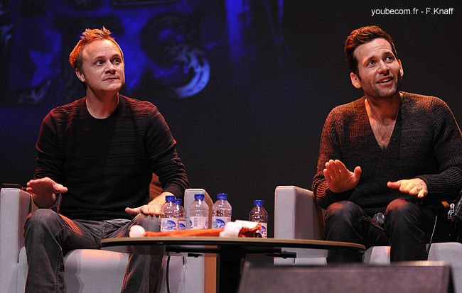 David Anders & Eion Bailey - Fairy Tales convention in Paris 2013