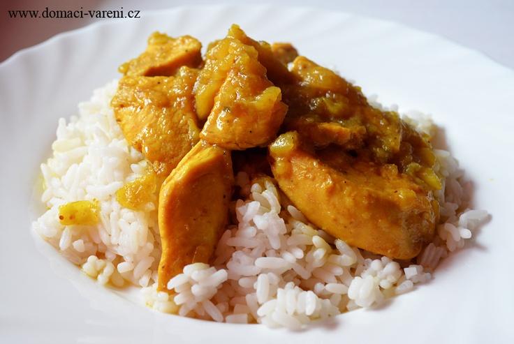 Recept na kuře na kari http://www.domaci-vareni.cz/kure-na-kari/