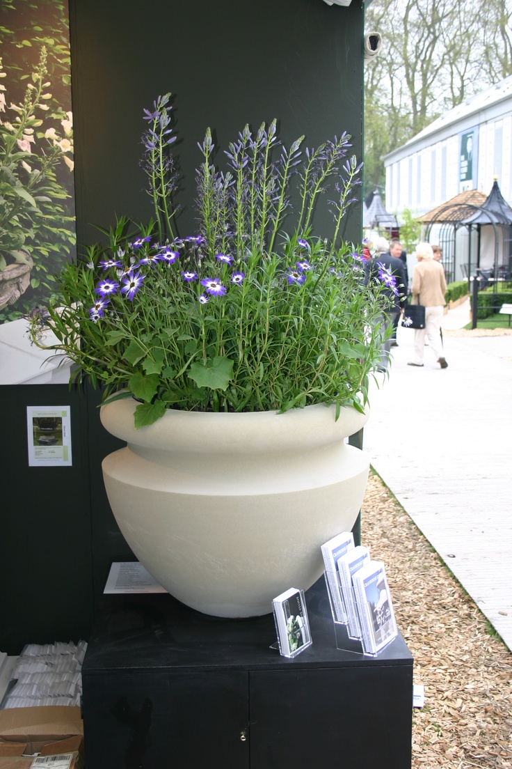 Our Tall Orchard planter, planted with perennials on display at the Chelsea Flower Show 2013