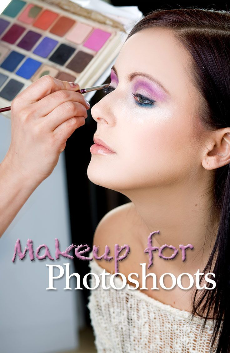 The Difinitive Guide to how and what makeup to wear for photoshoots. Great for models and photographers