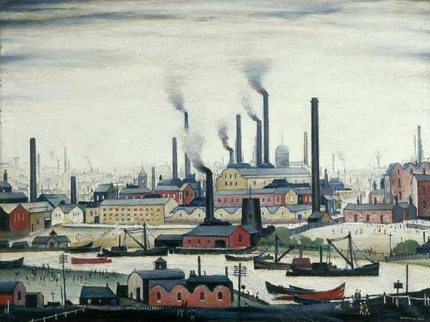 LS Lowry - The Independent