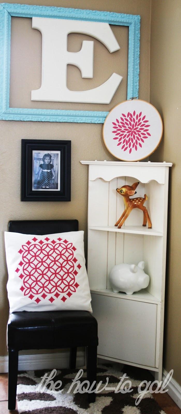 Vinyl Craft Room Wall Decor