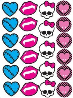 Pin Monster High Edible Party Cake Topper Image Sheet On  cakepins.com