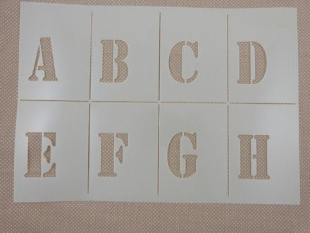 1000 id es sur le th me pochoirs alphabet sur pinterest pochoirs pochoirs imprimables. Black Bedroom Furniture Sets. Home Design Ideas