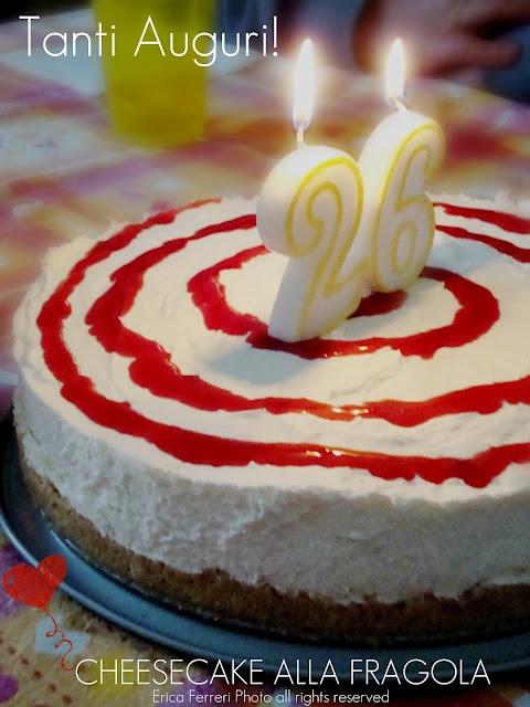 Strawberry Cheese cake - Cheese cake alla fragola