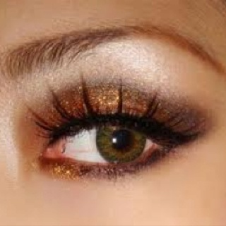 Glitter eyes: Make Up, Beauty Tips, Eye Makeup, Eyeshadows, Eyemakeup, Hair, Glitter Eye
