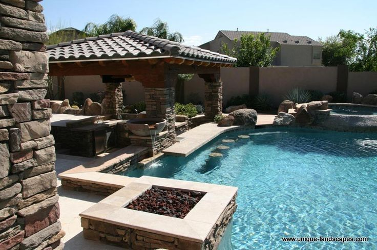 Swim Up Bars And Swimming Pools In Phoenix Az Photo
