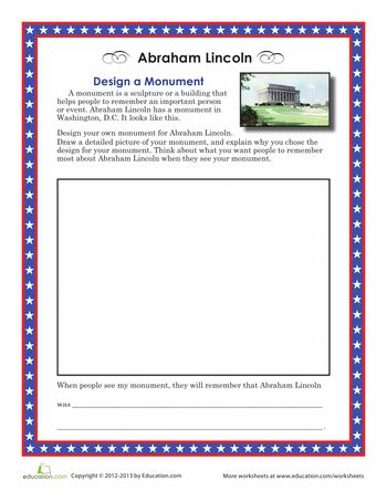 memorial day worksheets for middle school students