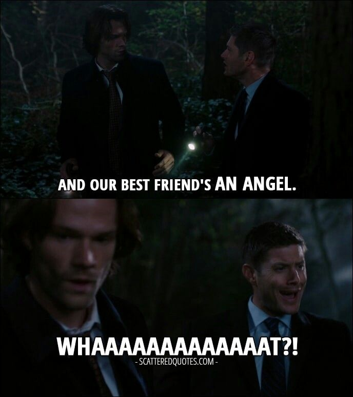 Hahahaha his expression is priceless!! Jensen!! What an amazing person. Jared too! The soulless Sam season ♥