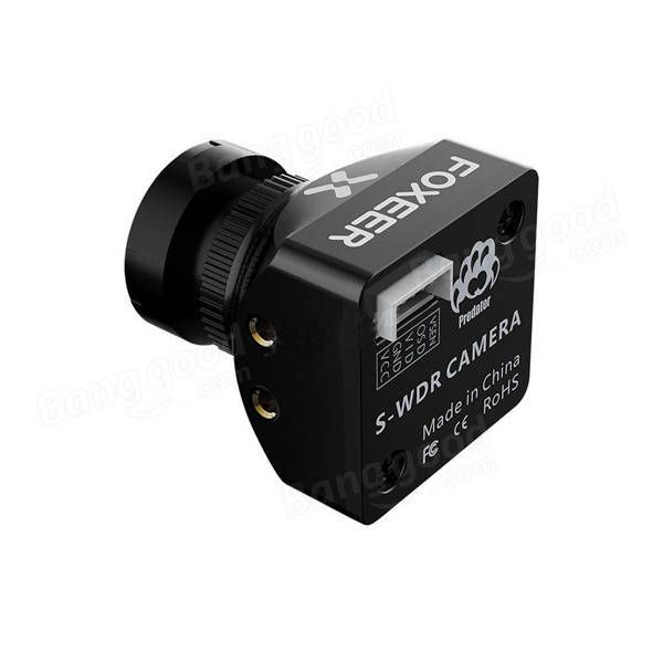 Foxeer Predator Mini 1.8mm/2.5mm CMOS 1000TVL/20mS Latency 4:3 SuperWDRFunction FPV Camera w/ OSD Sale - Banggood.com