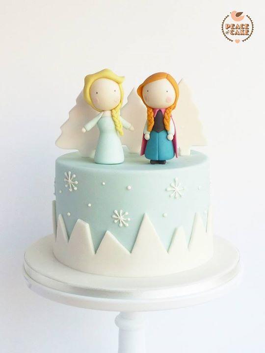 Diseños de pasteles de Frozen para fiestas