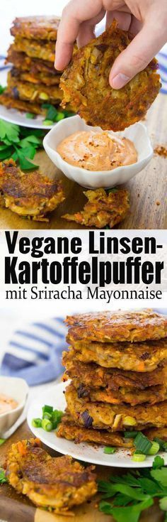 Kartoffelpuffer vegan und super einfach