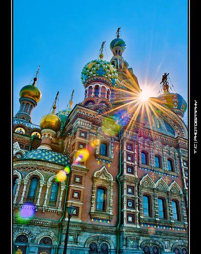 Spas na krovi, Saint Petersburg, Russia http://www.travelbrochures.org/208/europa/tour-to-russia