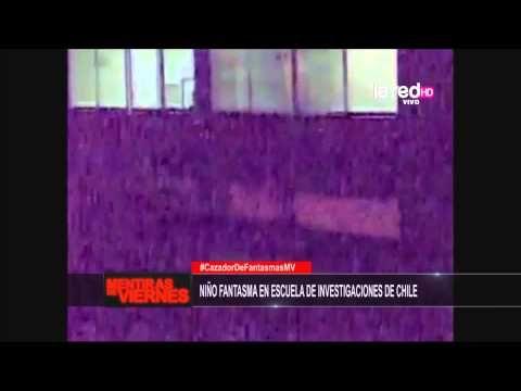 El aterrador video del niño fantasma de la Escuela de Investigaciones de Chile | Farandulaya