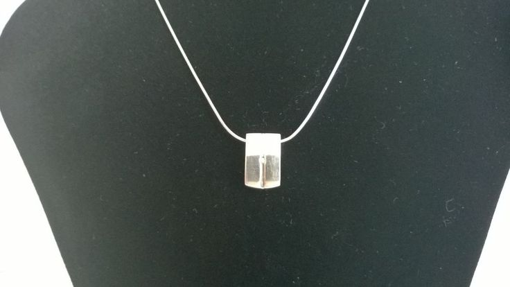 Sterling Silver Italian Chain Necklace with Sterling Silver Pendant